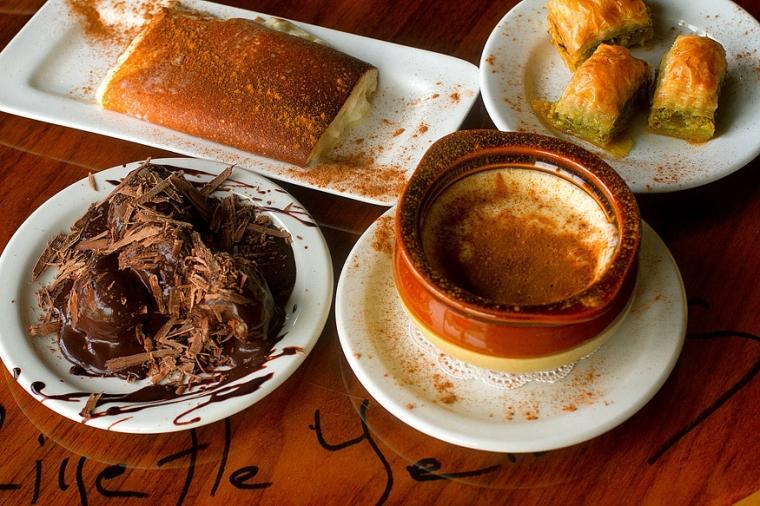 Food Photography Desserts Agora Mediterranean Kitchen