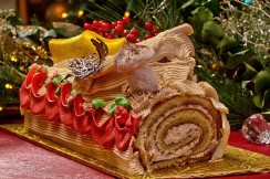 Buche de Noel Christmas Log Palm Beach County