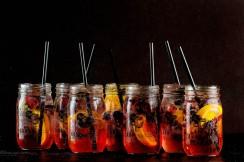 mason jar sangria