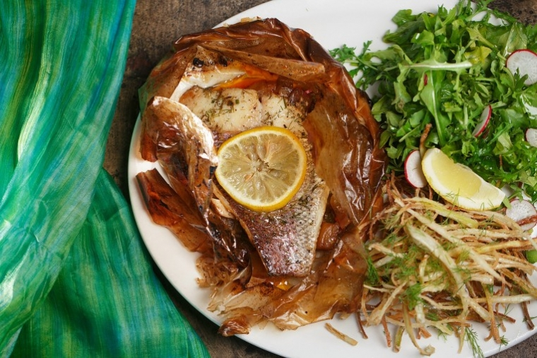 Agora Snapper   Red Snapper In Parchment Is One Of The Most Popular Dishes  From Agora