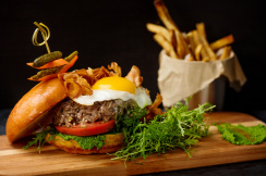 James Beard Blended Burger