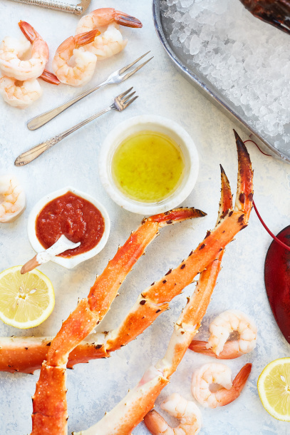 Seafood Wycliffe Country Club Libby Vision food photography