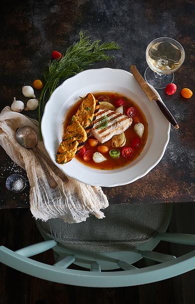 Chez Lepicier palm beach food photography